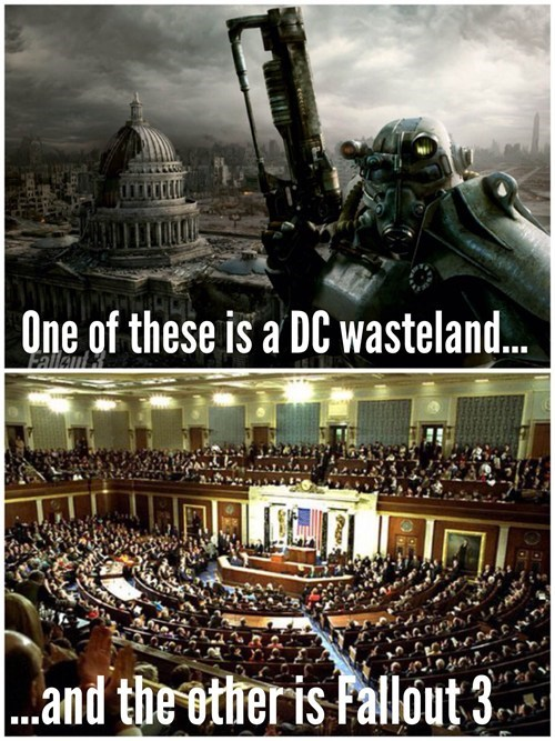 Congress Makes You Wish Fallout Actually Happened