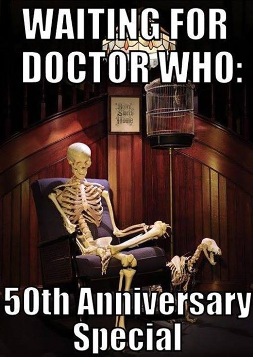 Waiting for Doctor Who