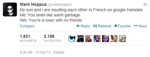 twitter,mark hoppus,parenting,father-son bonding,blink 182