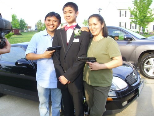 Held at Gunpoint for Prom