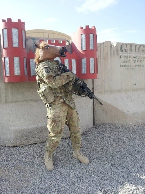 Colonel Gallop, Reporting for Duty