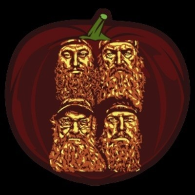 Carving Epic Beards on a Pumpkin is Real Hard