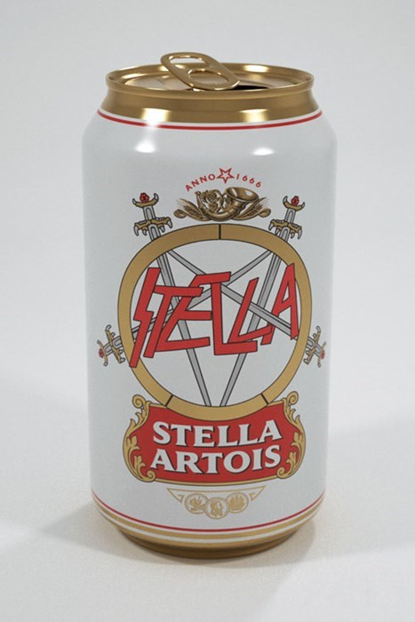 A Lighter Beer for Metal Fans