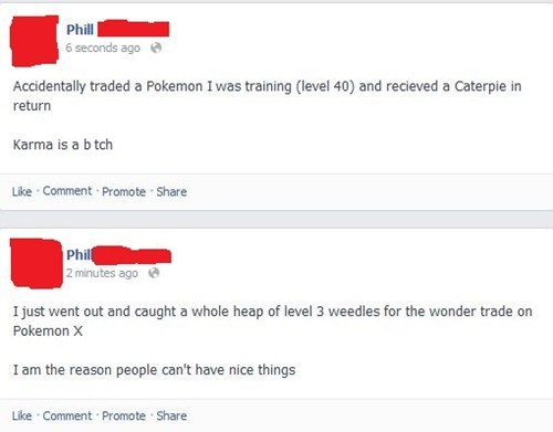 facebook,wonder trade