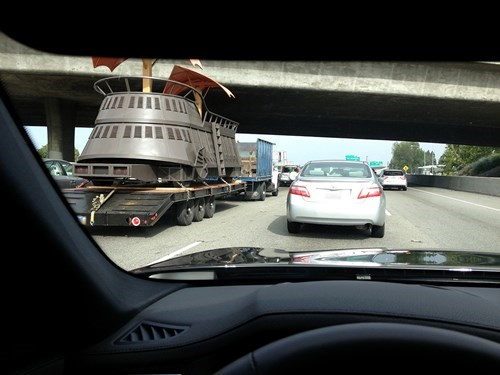 This Traffic Jam is Straight Bantha Poodoo
