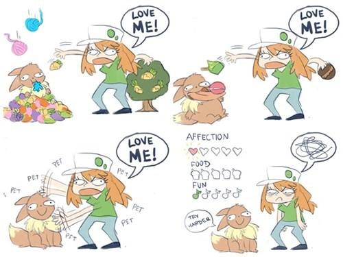 Y U NO LOVE ME?!