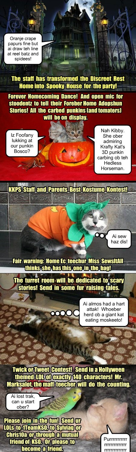 KKPS Hollyween Happening!  30 Oct - 3 Nov 2013