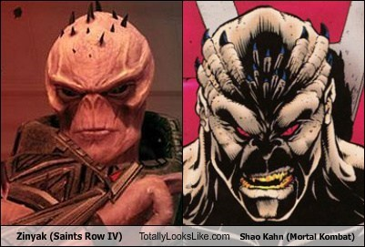 Zinyak Totally Looks Like Shao Kahn