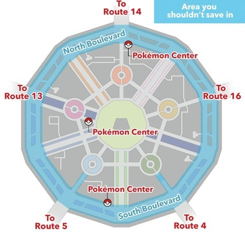 Lumiose City Glitch Map