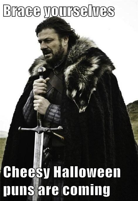 Brace yourselves  Cheesy Halloween puns are coming