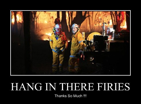 HANG IN THERE FIRIES