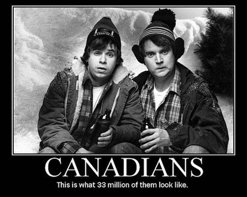 Canadians All Look Alike
