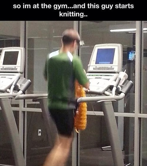 You'll Never be Able to Match This Guy at the Gym