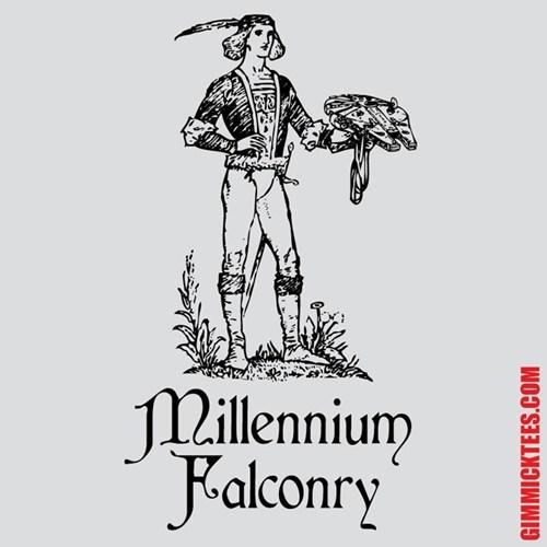 I Want to be a Millennium Falconer