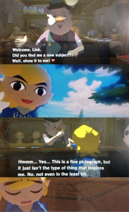 But Link Tried His Hardest