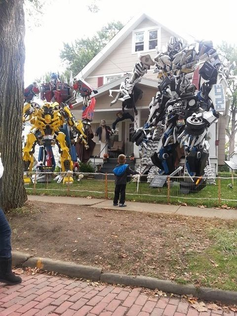 Transformers Halloween decorations