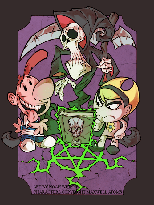 "Billy and Mandy Creator Has a Kickstarter Called ""DEAD MEAT"""