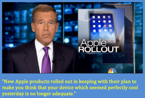Brian Williams Has Apple All Figured Out