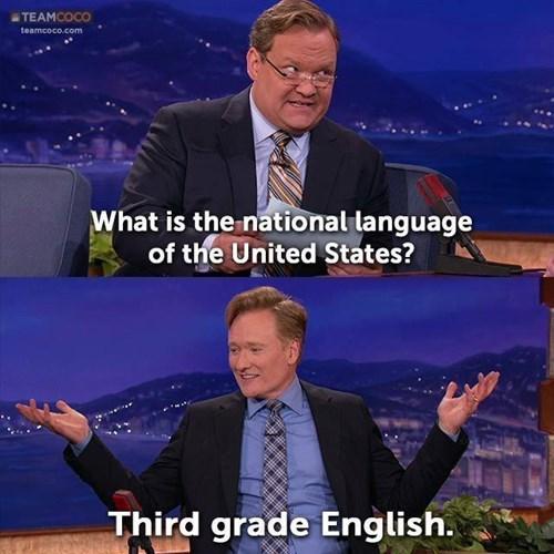 languages,conan obrien