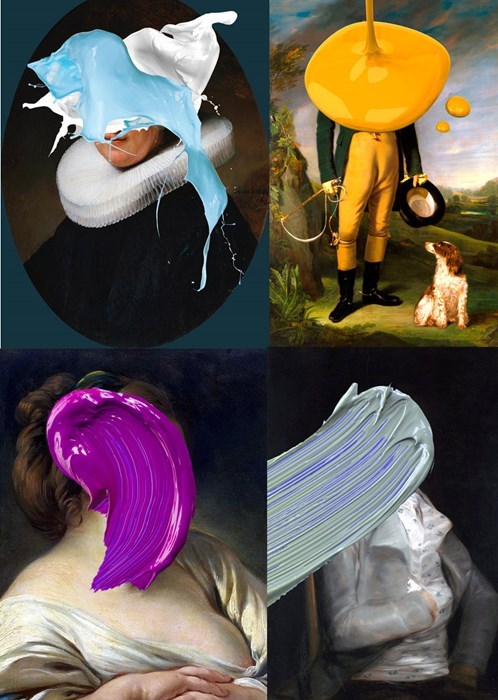Artsy Fart of the Day: Defacing Classic Art can be Good