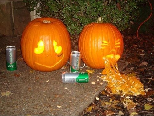 More Drunk Pumpkins