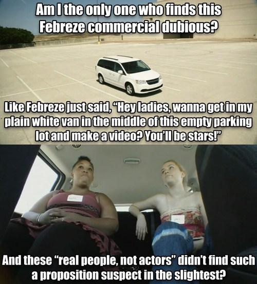 dubious,febreze