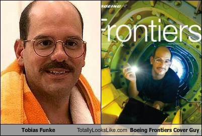 Tobias Funke Totally Looks Like Boeing Frontiers Cover Guy