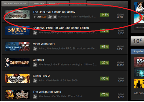 Steam sale out of control