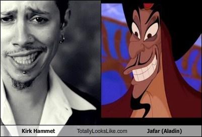 jafar,kirk hammet,totally looks like,funny,aladin