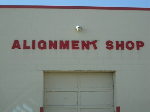 No One Ever Said We Were a GOOD Alignment Shop...