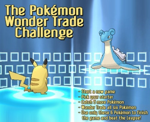 The Pokémon Wonder Trade Challenge