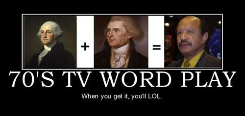 70s,the jeffersons,TV,funny,wordplay