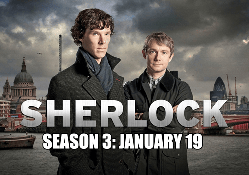 Sherlock Returns on January 19th