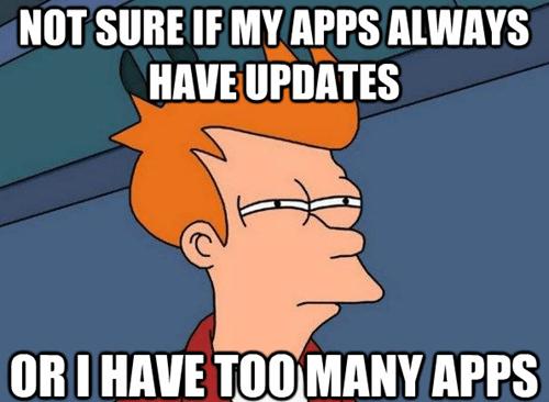 phones,fry meme,apps,Memes