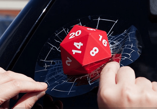 Roll a D20 Right Into the Window