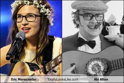 Eric Morecambe Totally Looks Like Abi Alton