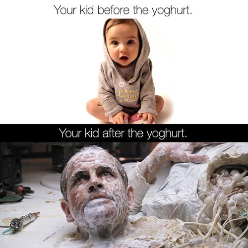 Big Mistake Giving Kids Yogurt