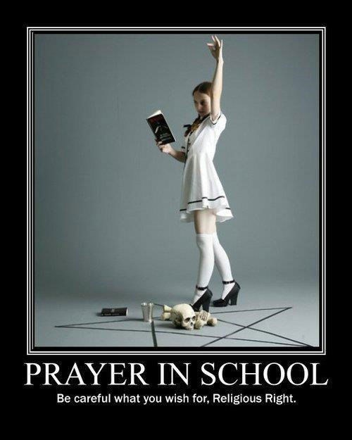 What Is She Praying For?