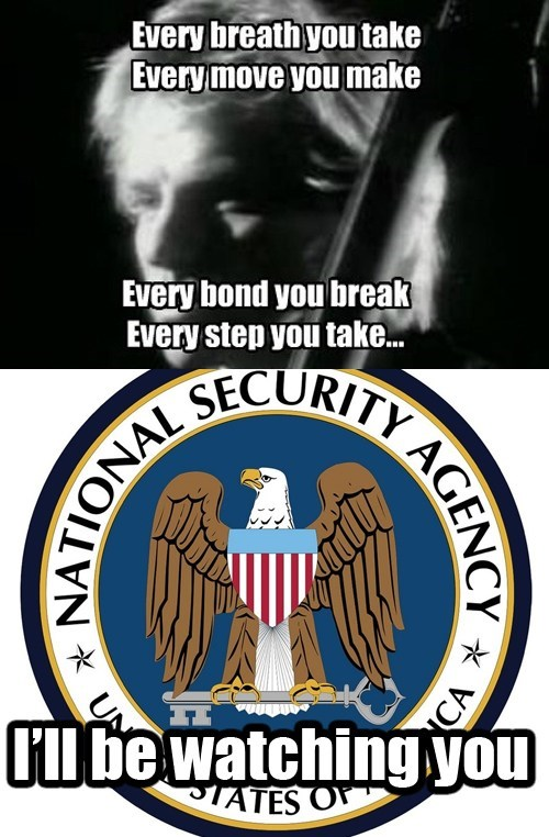 The NSA is Always Watching