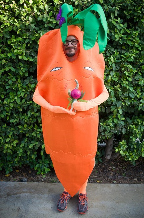 The Co-Creator of Avatar is the Carrot Spirit for Halloween