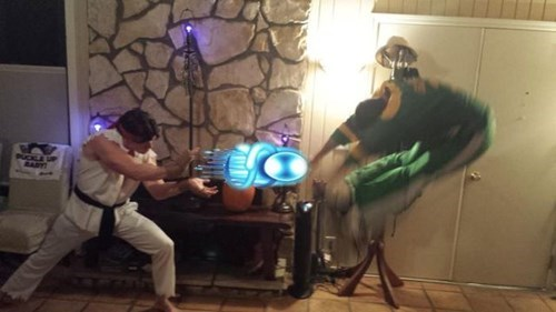 Halloween is the Perfect Time for Hadouken-ing