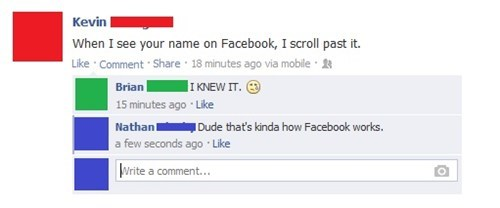 That's the Premise of Facebook
