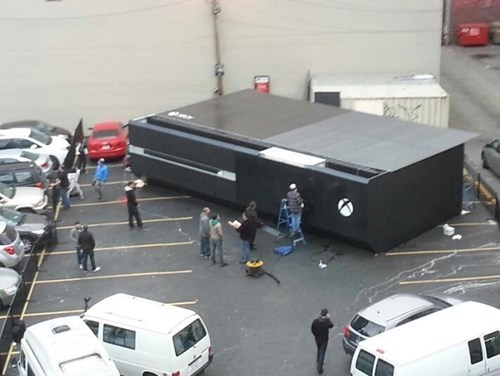 Microsoft Built a Giant Xbox One in Vancouver