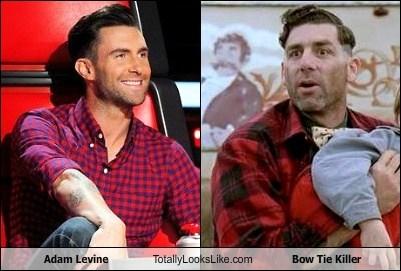adam levine,totally looks like,bow tie killer