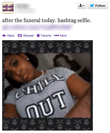 Funeral Selfies Might Be One of the Dumbest Trends Ever