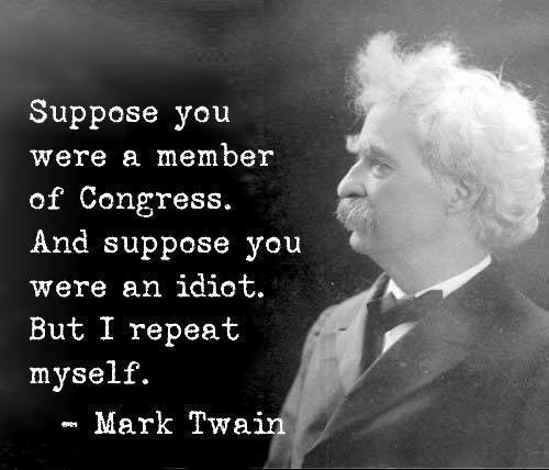 Mark Twain Had it Right