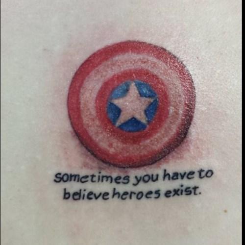 captain america,funny,superheros,tattoos