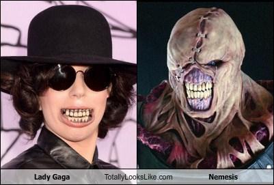 Nemesis,totally looks like,lady gaga,funny