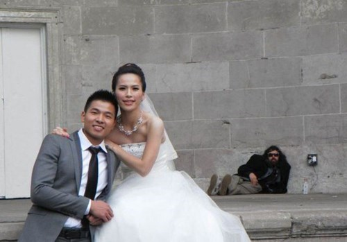 photobomb,wedding,funny