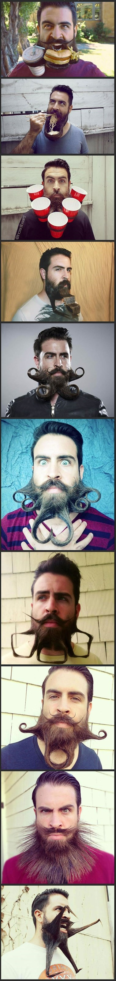 The Best Facial Hair You'll See This Week